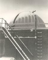 Odland Observatory, roof of Science Hall, 1961.