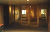 Lindell Library, Gage Family Art Gallery, facing north, circa 1997.