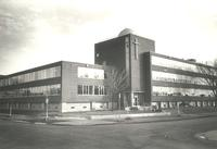 Science Hall, northwest corner, facing southeast, circa 1961.