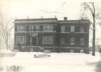 Sivertsen Hall, north facade, facing south, circa 1939.