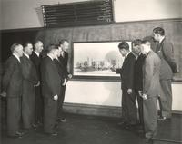 Science Hall, early planning, circa 1949.