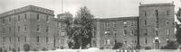 Sverdrup Oftedal Memorial Hall, west facade, facing east, circa 1938.