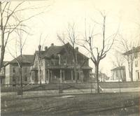 Morton Hall, east facade, facing west, circa 1920s.