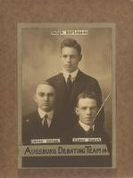 Augsburg Debating Team, 1914.