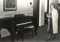 Charles S. Anderson Music Hall, practice rooms and offices, October 1979.