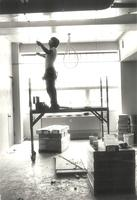 Science Hall, interior wiring, circa 1984.