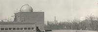 Odland Observatory, roof of Science Hall, circa 1961.