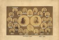 Augsburg Seminary Students and Professors, 1884-1885