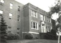 Sivertsen Hall, west facade, facing northeast, circa 1950.