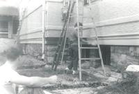 Little Theater, renovation, circa 1950.