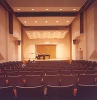 Charles S. Anderson Music Hall, Sateren Auditorium, circa 1980.