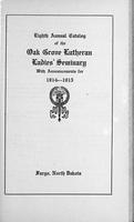 Oak Grove Ladies' Seminary Catalog, 1914-1915